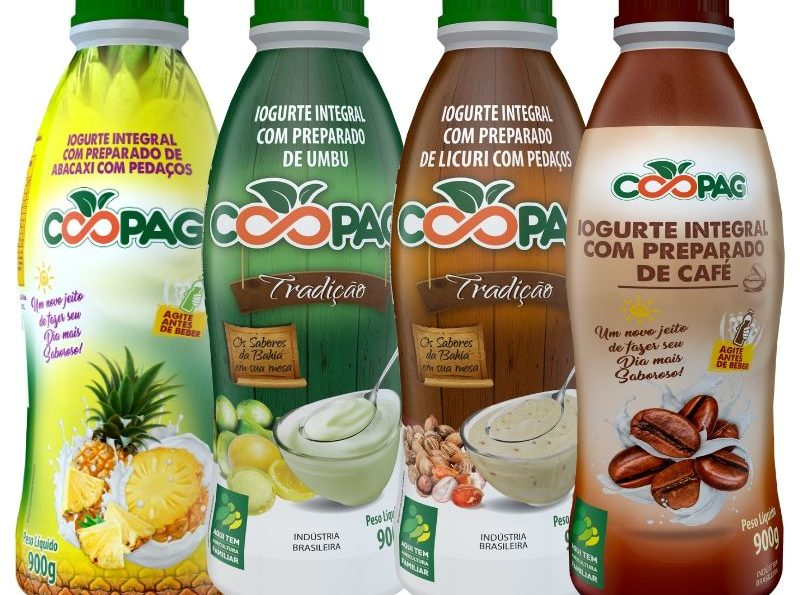 Iogurtes Sabor Premium Abacaxi Umbu Licuri Café